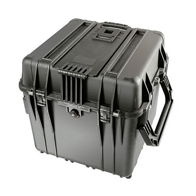 Pelican™ 0340 Cube Case with Lid and Foam; Black