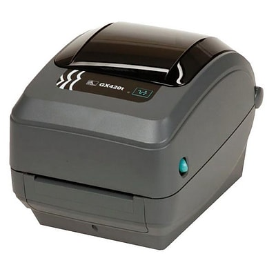 Zebra GX430T G-Series Gx Desktop Label Printer; 7 1/2(H) x 7.6(W) x 10(D)