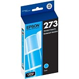 Epson® Claria® Cyan Ink Cartridge (T273220), Standard Yield (300 pages)