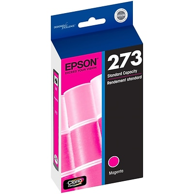 Epson® Claria® Magenta Ink Cartridge (T273320), Standard Yield (300 pages)