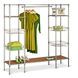 Honey Can Do® Adjustable Free Standing Steel Closet