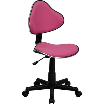 Flash Furniture Fabric Ergonomic Task Chairs With Chrome Metal Band Accent