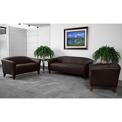 Flash Furniture HERCULES Imperial LeatherSoft Reception Set