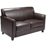 Flash Furniture HERCULES Diplomat Leather Love Seats