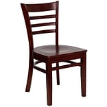 Hercules Ladder-Back Wood Restaurant Chair