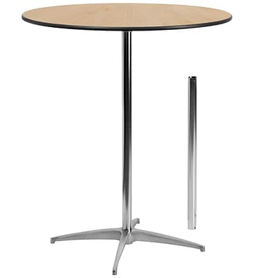 Flash Furniture 36 Round Wood Cocktail Table