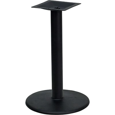 Flash Furniture 24 Round Restaurant Table Base W/4 Dia. Bar Height Column, Black