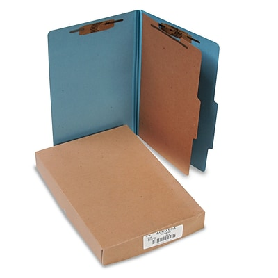 ACCO Legal Recycled Classification Folder, 1 Part, 10/Box (16024)