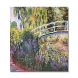 Trademark Fine Art Claude Monet The Japanese Bridge IV Canvas Art.