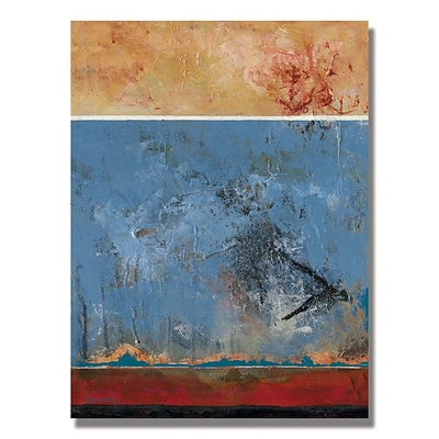 Trademark Fine Art Alexandra Rey The Attac of the Crow III Canvas Art 18x24 Inches
