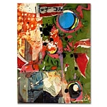 Trademark Fine Art Miguel Paredes Urban Collage I Canvas Art 35x47 Inches