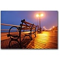 Trademark Fine Art CATeyes Boardwalk Canvas Art Ready to Hang 18x24 Inches