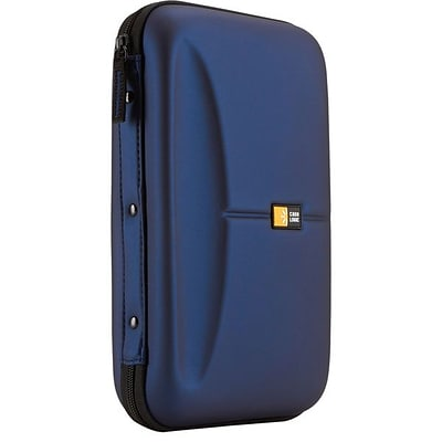 Case Logic® Molded EVA Foam 72 CD Wallet; Blue