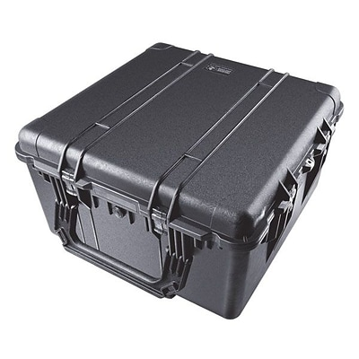 Pelican™ 1640 Transport Case With Foam; Black