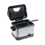 Conair® Cuisinart® Compact Refurbished 1.1 Liter Deep Fryer; Brushed Stainless Steel