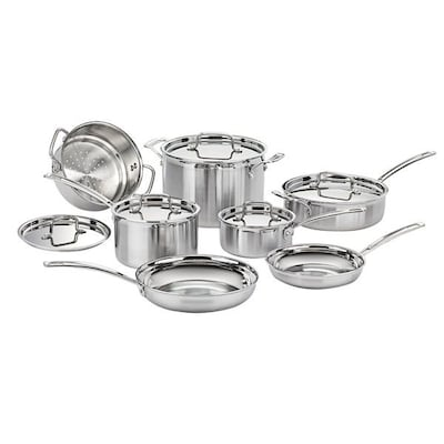 Cuisinart(r) MultiClad Pro 12 Piece Stainless