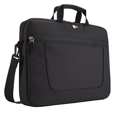 Case Logic® 15.6 Top Loading Laptop Briefcase; Black