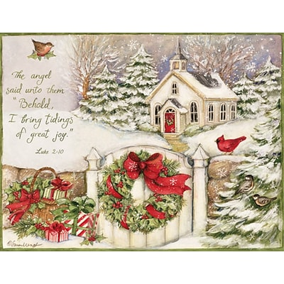 lang little church assorted boxed christmas cards