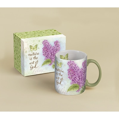 LANG® Botanical Inspiration Lilac 14 oz. Coffee Mug