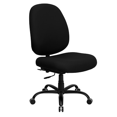 Belnick Hercules™ Series Fabric Office Chair with Extra Wide Seat, Black