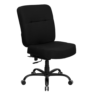 Belnick Hercules™ Series Fabric Office Chair with Extra Wide Seat, Contour Black