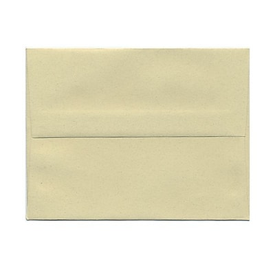 JAM Paper® A2 Passport Invitation Envelopes, 4.375 x 5.75, Gypsum Recycled, 25/Pack (41338)