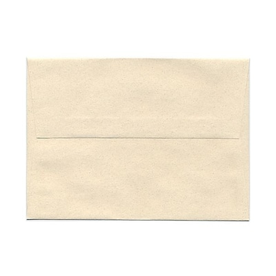 JAM Paper® A7 Invitation Envelopes, 5.25 x 7.25, Gypsum Ivory Recycled, 1000/carton (CPPT703B)