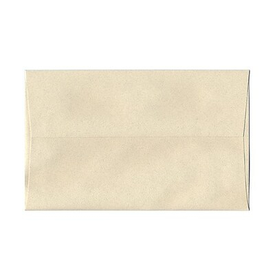 JAM Paper® A10 Invitation Envelopes, 6 x 9.5, Gypsum Ivory Recycled, 1000/carton (83793B)