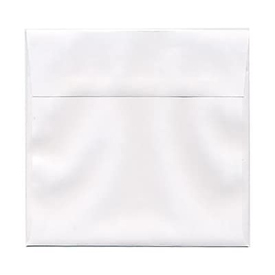 JAM Paper® 6.5 x 6.5 Square Envelopes, White, 25/pack (28417)