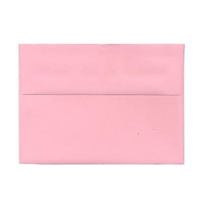 JAM Paper® A7 Invitation Envelopes, 5.25 x 7.25, Baby Pink, 25/pack (155627)