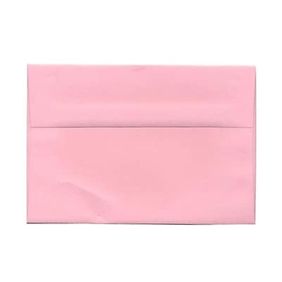 JAM Paper® A9 Invitation Envelopes, 5.75 x 8.75, Baby Pink, 1000/carton (155698B)