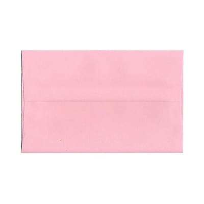 JAM Paper® A10 Invitation Envelopes, 6 x 9.5, Baby Pink, 1000/carton (155688B)
