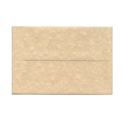 JAM Paper® A8 Invitation Envelopes, 5.5 x 8.125, Parchment Brown Recycled, 1000/carton (52066B)