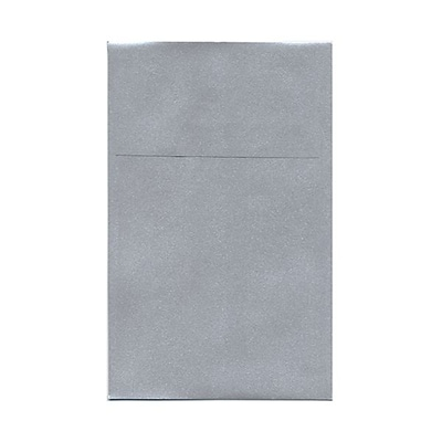 JAM Paper® A10 Policy Envelopes, 6 x 9.5, Stardream Metallic Silver, 25/pack (V018303)