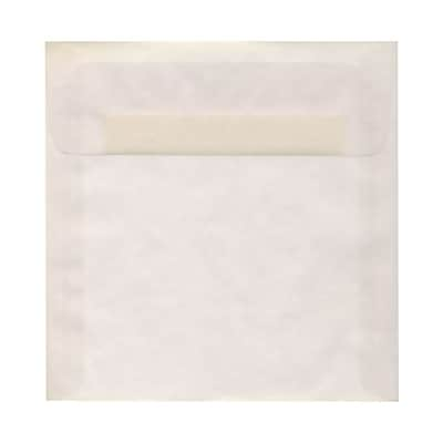 JAM Paper® 8.5 x 8.5 Square Envelopes, Clear Translucent Vellum, 1000/carton (GTGN530B)