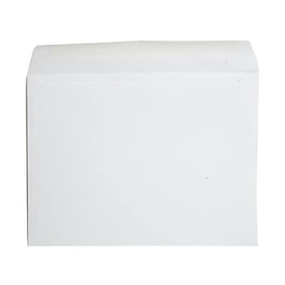 JAM Paper® 9 x 12 Booklet Envelopes, Strathmore Bright White Wove, 25/Pack (46974)