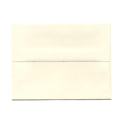 JAM Paper® A2 Invitation Envelopes, 4 3/8 x 5 3/4, Strathmore Natural White Wove, 1000/carton (5TTW613B)