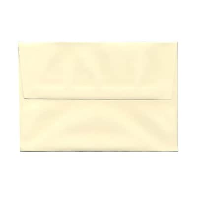 JAM Paper® A8 Invitation Envelopes, 5.5 x 8.125, Strathmore Ivory Wove, 25/pack (900783880)