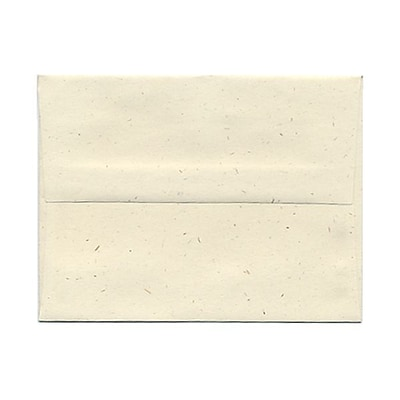 JAM Paper® A2 Invitation Envelopes, 4 3/8 x 5 3/4, Milkweed Ivory Recycled, 1000/carton (03271B)