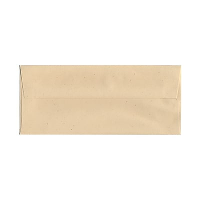 JAM Paper® #10 Business Envelopes, 4 1/8 x 9 1/2, Husk Brown Recycled, 25/pack (900909507)
