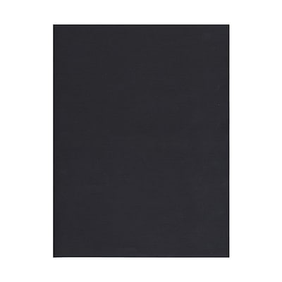 JAM Paper® Recycled Paper - 8.5 x 11 - 32 lb. Black Linen - 500/box