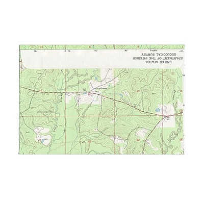 JAM Paper® 6 x 9 Booklet Envelopes, Made with Real Map Surplus, 25/pack (163732)