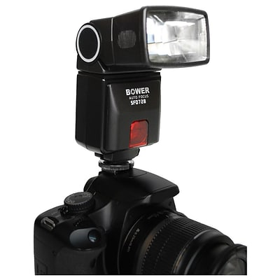 Bower® SFD728 Dedicated Autofocus E-TTL I/II Flash for Canon Digital Cameras