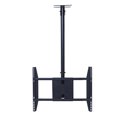 Rocelco® LCM Large Flat Panel Ceiling TV Mount For 32 - 60 Screens Up To 56.7 kg/125 lbs.
