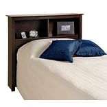 Prepac™ 44.75 Twin Bookcase Headboard, Espresso