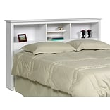 Prepac™ 65.75 Full/Queen Bookcase Headboard, White