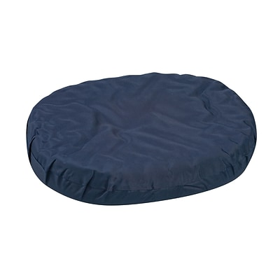 DMI® 18 x 15 x 3 Foam Convoluted Ring Cushion, Polyester/Cotton Cover, Navy