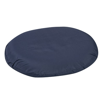 DMI® 14 x 12 1/2 x 3 Foam Contoured Ring Cushion, Polyester/Cotton Cover, Navy