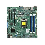 Supermicro® X10SLM+-F Intel® C224 Chipset Server Motherboard