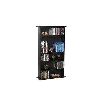 Atlantic® Drawbridge Wood MM Storage Unit; Black